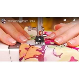 Truco para coser lycra
